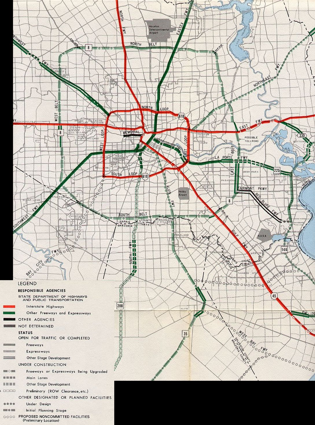 Grand Parkway Houston Map