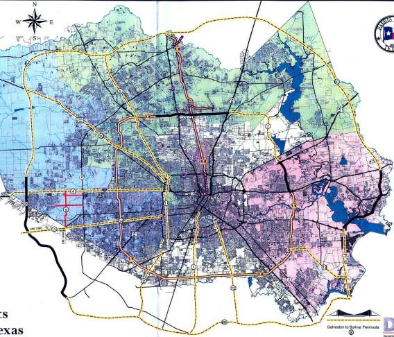 Toll Roads In Houston Map.Texasfreeway Houston Future Freeway Harris County Toll Road