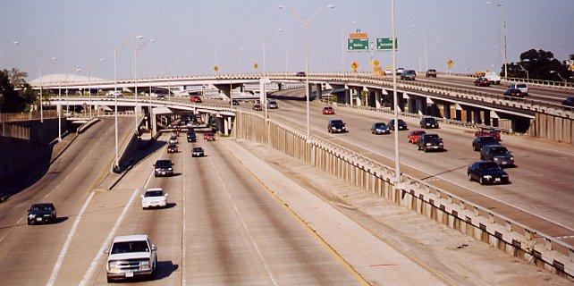 TexasFreeway Houston Photo Gallery Downtown Freeways