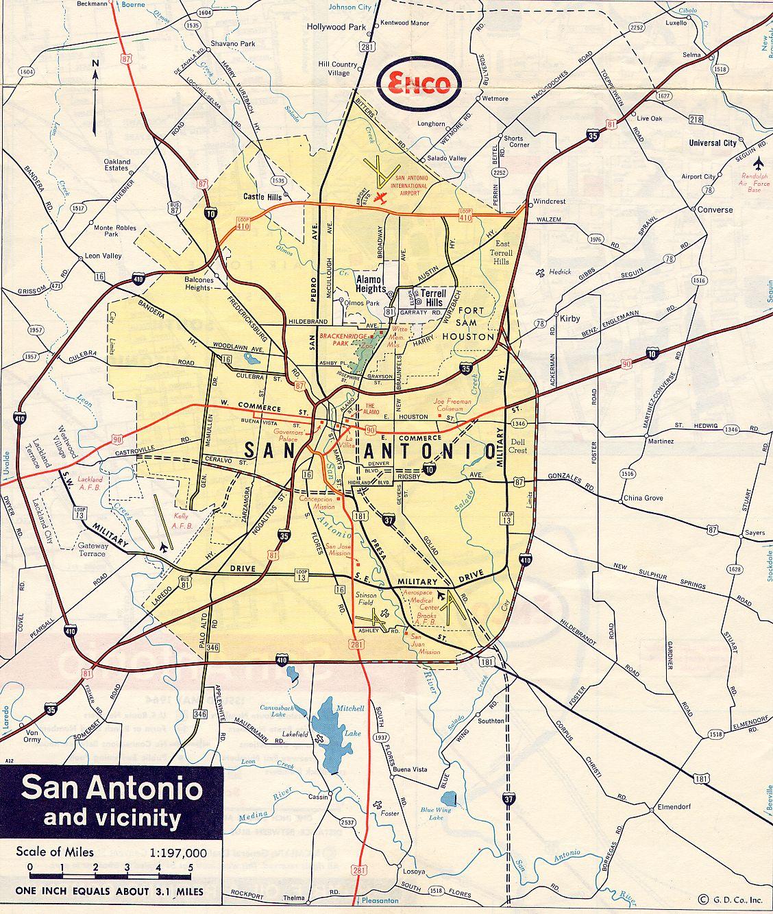TexasFreeway > San Antonio > Historical Information > Old ...