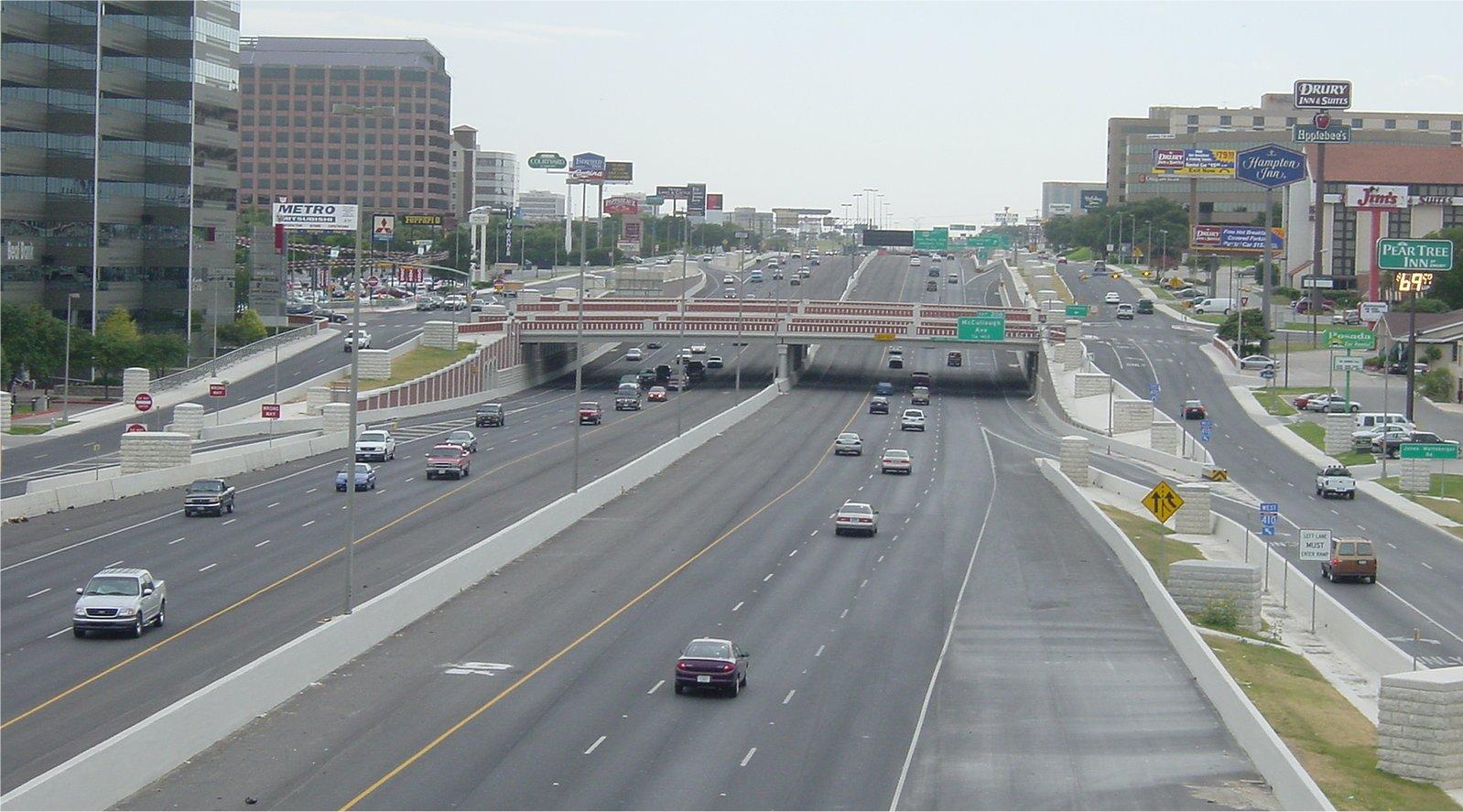 texas freeways photos