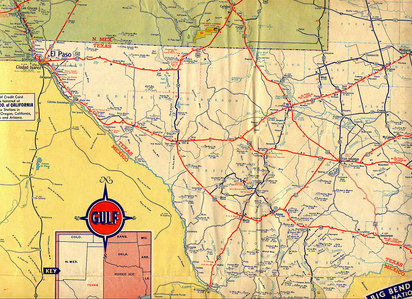 TexasFreeway > Statewide > Historic Information > Old Road Maps